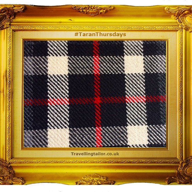 Tartan Thursdays, ideal for evening dress. Thompson Tartan