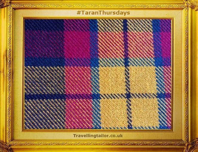 Tartan Thursdays – ideal for evening dress Macmillan Tartan