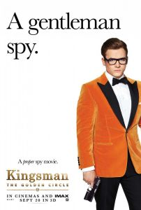 Tangerine Velvet Jacket from Kingsman film