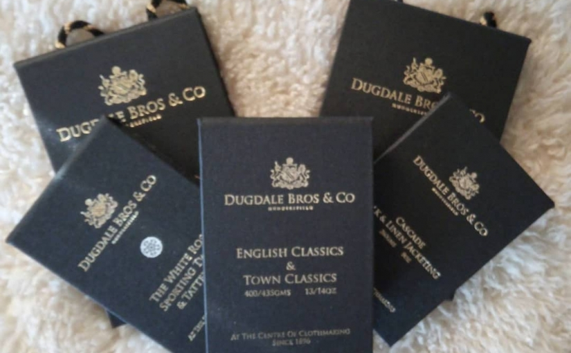 New to TravellingTailor.co.uk,  Dugdale Bros & Co (est 1896), English & Town Classics,  Sporting Tweeds,  Silk & Linen Jacketings plus  Jacquard Paisley Linings