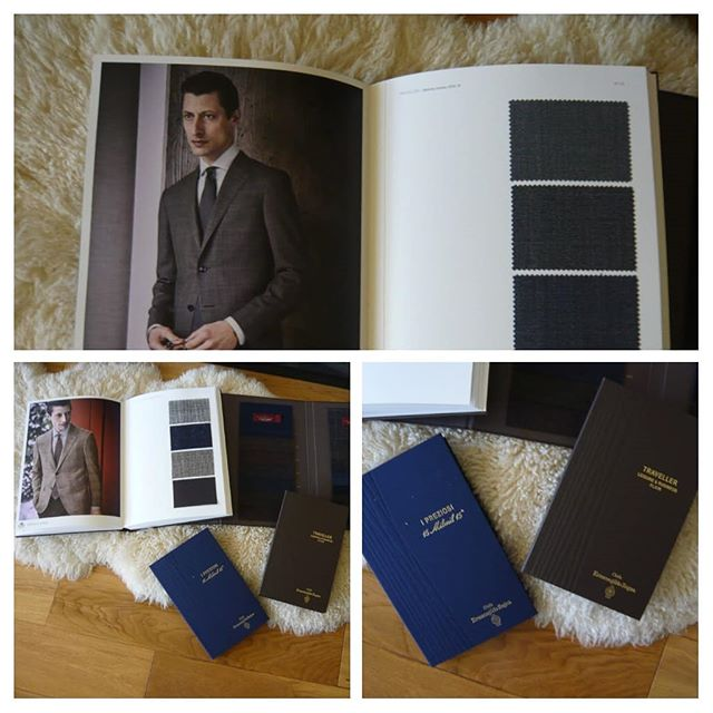Introducing Ermenegildo Zegna finest Italian cloth to our travelling tailor clients