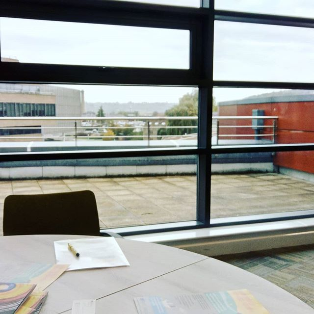 My office yesterday – Huddersfield University Charles Sikes building marketing workshop. Very informative and enjoyable