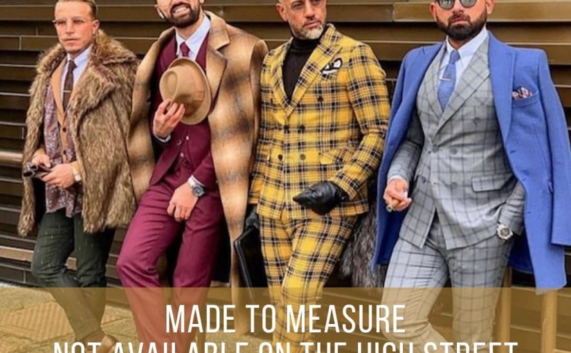 Image from Pitti Uomo 2019. Made to measure, for when you want that little something different