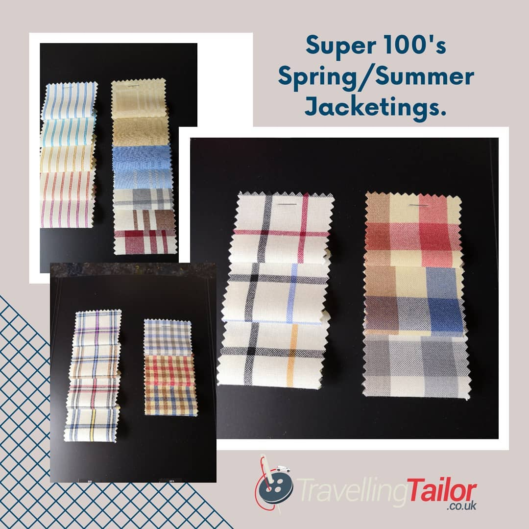 Let me introduce CREAM, the latest Super 100's Jacketings for your new made to measure Spring Summer Jacket.  Give me a call on 01484 511088 to discuss your new made to measure jacket or suit