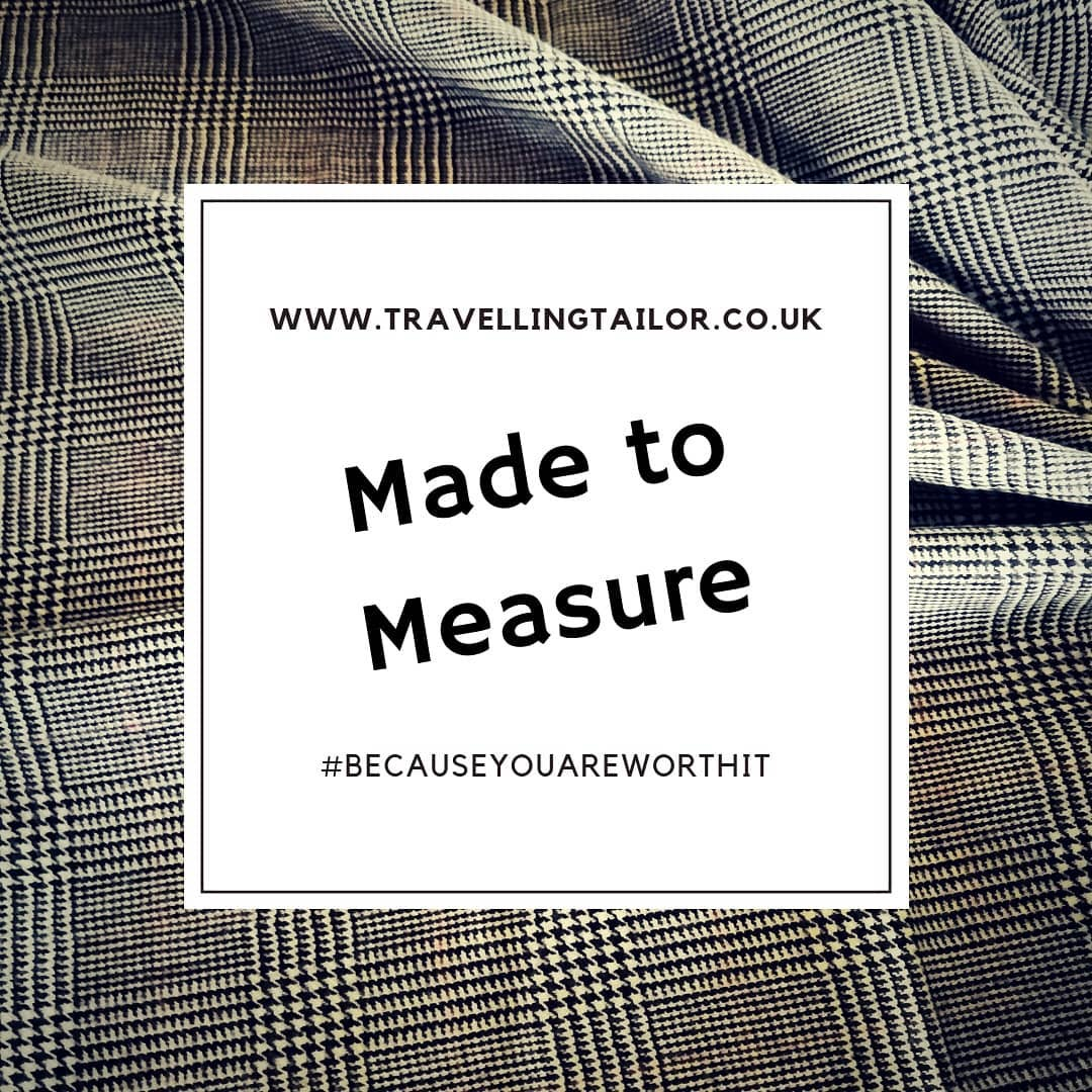 Made to measure – because you're worth it