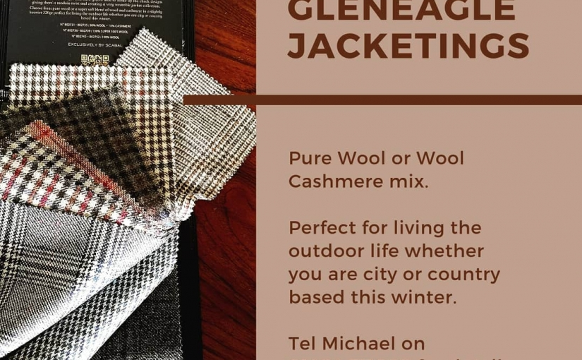 by, perfect for your.  Why not give me a call on 01484 511088 to discuss your next sports jacket