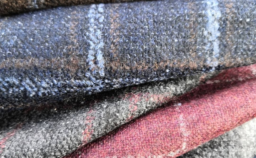 Garnett Collection, Wool, Cashmere and Silk jacketings.  Tel Michael on 01484 511088 to discuss your next made to measure jacket